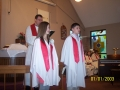Kaleb Hagen & Selina Fraire Confirmation May 2008 Cross of Christ